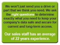 InStock's staff has an average of 22 years experience.