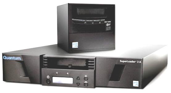 Quantum SDLT 600A SuperLoader 3A